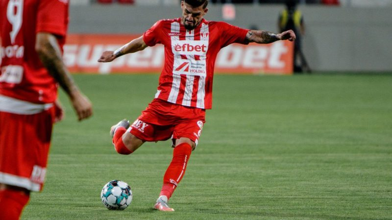 Utistul Albu și arădeanul Man sunt în echipa ideală a etapei a doua Casa Liga 1