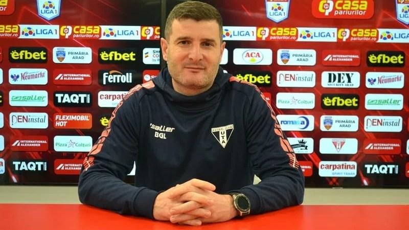 """Balint, despre """"răscrucea"""" CFR Cluj: """"Toată lumea a conștientizat că UTA se poate bate de la egal la egal cu oricine, am avea 5 adversari până să ridicăm Cupa deasupra capului"""""""