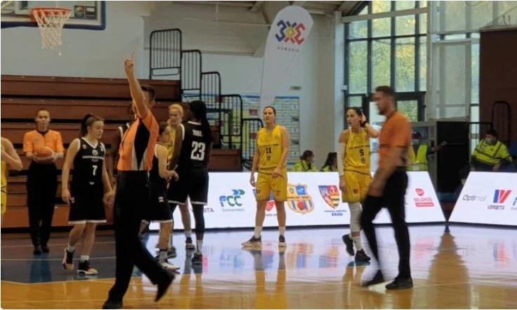 Duș rece la revenirea pe parchet, prezența în Final Four-ul Cupei – în mare dubiu: FCC Baschet Arad – Universitatea Cluj Napoca 55-68