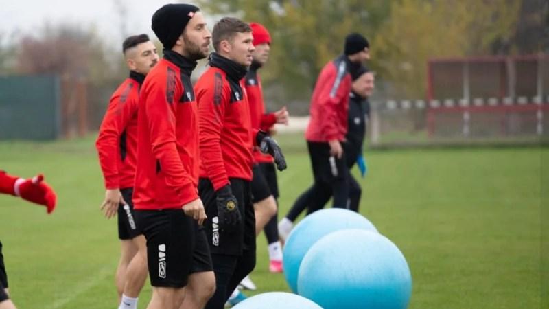 Rusu și Klapan și-au reluat antrenamentele cu echipa, Balint va avea aproape tot lotul apt pentru meciul de Cupă