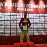 Aradul are campioni naționali la judo veterani: Daniel Lazăr a urcat de două ori pe cea mai înaltă treaptă a podiumului!
