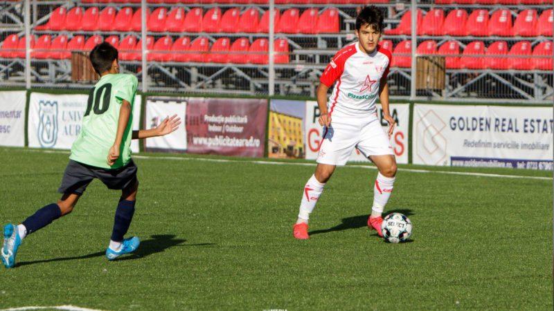 """Calcule respectate pe """"Motorul"""", în Liga Elitelor: Echilibru la U19 între UTA și Știința Craiova, distracție """"roș-albă"""" la Under 17!"""