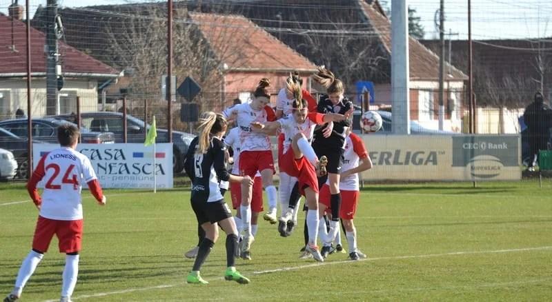 Adevărate leoaice în derby-ul Vestului: AC Piroș Security Arad – Fortuna Becicherecu Mic  2-0