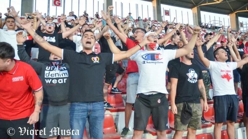 Play-off / Play-out cu spectatori pentru UTA? Scenariul făcut de Burleanu pentru România – Germania s-ar putea aplica și în campionatele interne!