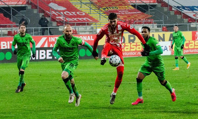 Live-text Liga 1, ora 20,45: UTA – Dinamo 0 – 1