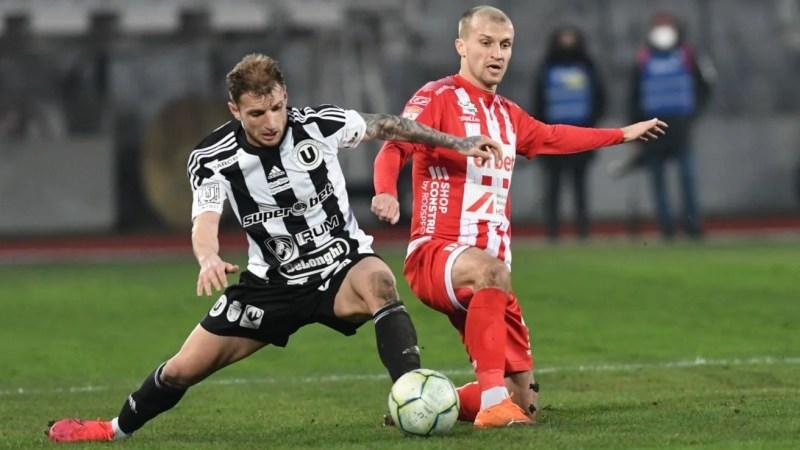Live-text optimile Cupei României: Universitatea Cluj – UTA 2-1, final