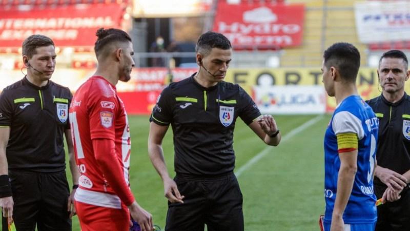 """UTA nu a pierdut în Liga I cu arbitrul de mâine, din """"Groapă"""""""