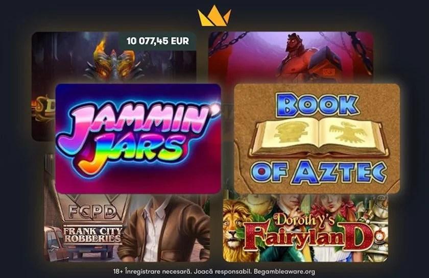 Frank Casino: care sunt cele mai populare sloturi?