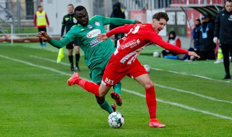 UTA e în topul cluburilor din Liga 1 care se bazează cel mai mult pe tineri, Balint a schimbat unul dintre juniori doar în trei ocazii înainte de pauză!
