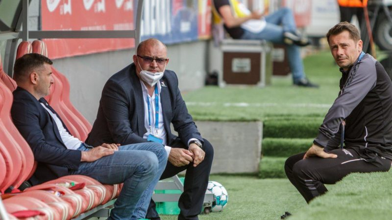 """Balint, momente de cumpănă în timpul meciului cu Chindia: """"Am simțit nevoia să mă liniștesc, ca staff funcționăm în mod unitar"""""""