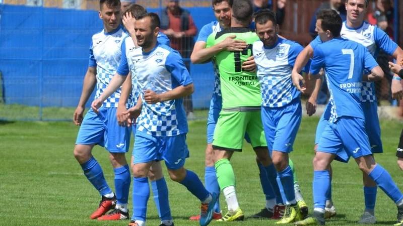 """""""Grănicerii"""" sunt noii campioni ai județului Arad: Frontiera Curtici – Șoimii Șimand  4-1"""