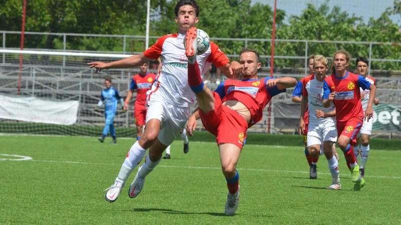 Pas hotărât spre finala Ligii Elitelor U17: UTA – FCSB 4-1