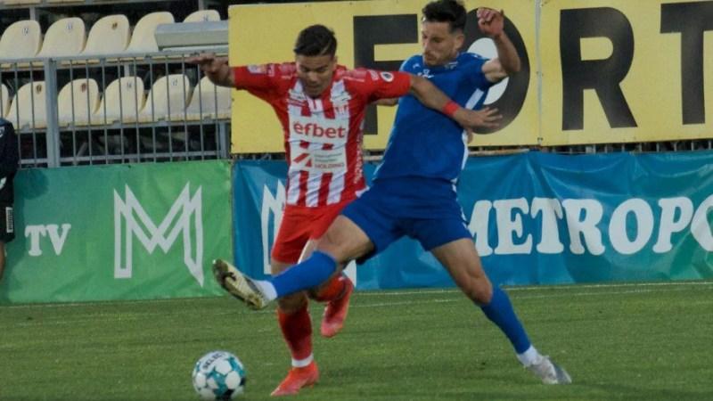 """Juniorul Negoescu a trăit bucuria debutului în Liga 1: """"O zi specială pentru mine, o zi fericită pentru noi toți cu acest loc 8"""""""