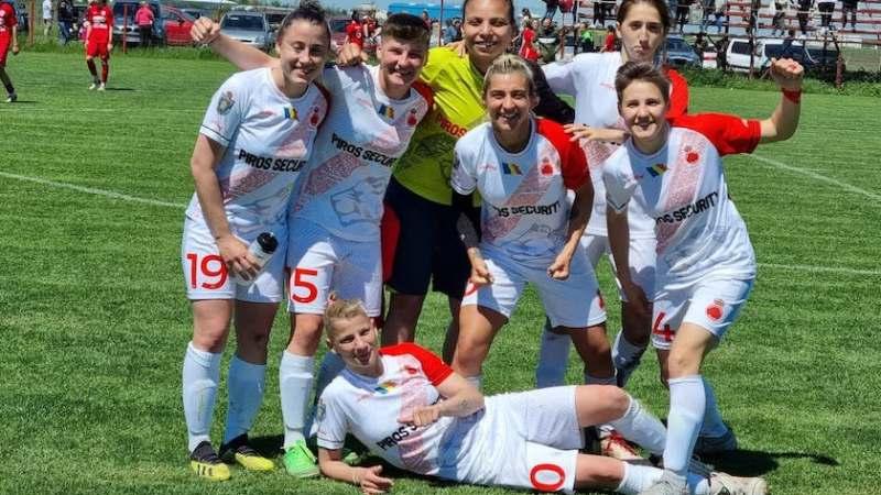 """""""Leoiacele"""" se confirmă stăpânele vestului: Fortuna Becicherecu Mic – AC Piroș Security 1-3"""