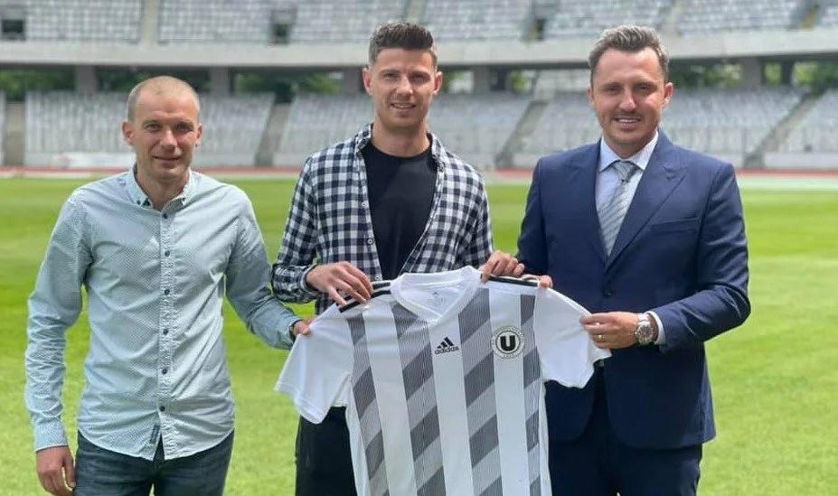 Voinea nu va mai juca la UTA, ci va încerca să promoveze în Liga 1 cu U. Cluj