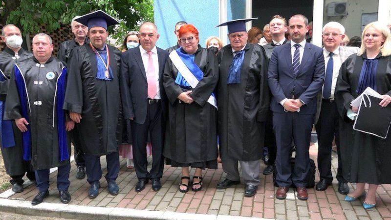 Două titluri de Doctor Honoris Causa UVVG.  Prof. univ. dr. Marius Lucian Craina şi Prof. dr. Doru-Mihai Anastasiu, personalităţi eminente ale lumii medicale