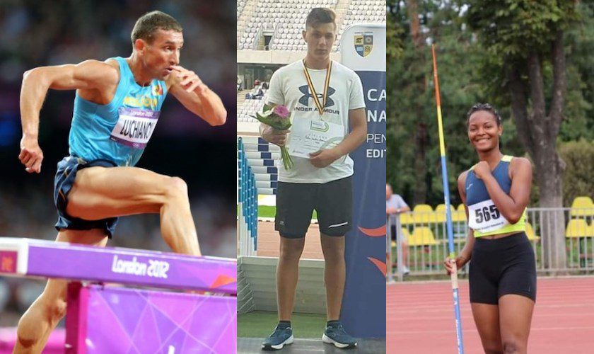 """Luchianov și Severin aduc Aradului """"aurul"""" la naționalele de atletism, la doar 16 ani Oriaku urcă pe podium atât la tineret, cât și la senioare!"""
