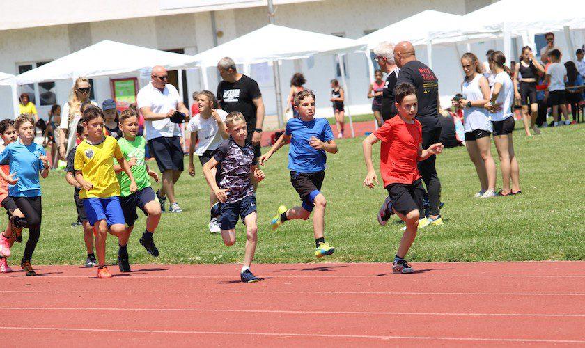 Festival de atletism pentru cei mici