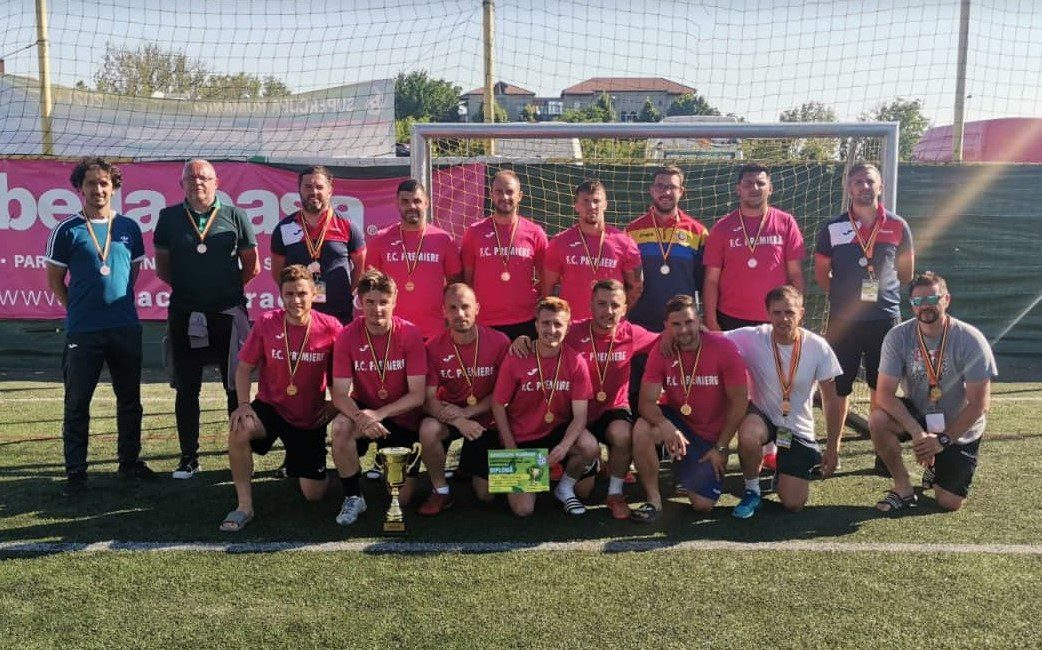 Arădeni de bronz la Supercupa României de minifotbal: Premiere are șanse să ajungă și în cupele europene!