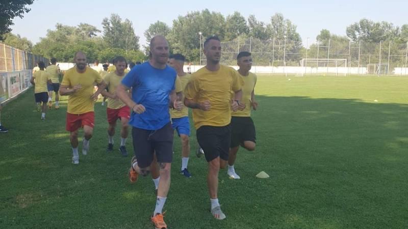 Sorin Bălu a avut 23 de fotbaliști la reunirea Progresului Pecica! Saizu a revenit la echipă, dar achizițiile grele rămân cele ale lui Telescu și Enciu