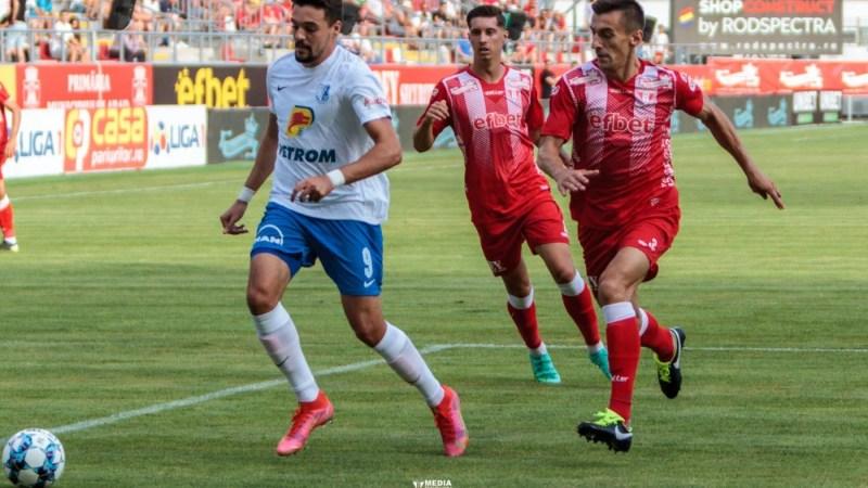 Petre s-a deblocat în Liga 1 după un an de secetă