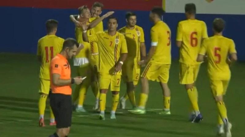 """Utistul Negoescu a pasat decisiv în victoria """"tricolorilor"""" U 19 contra Israelului"""