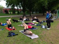 Situps Ostpark