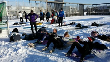250 Crunches Gruppe
