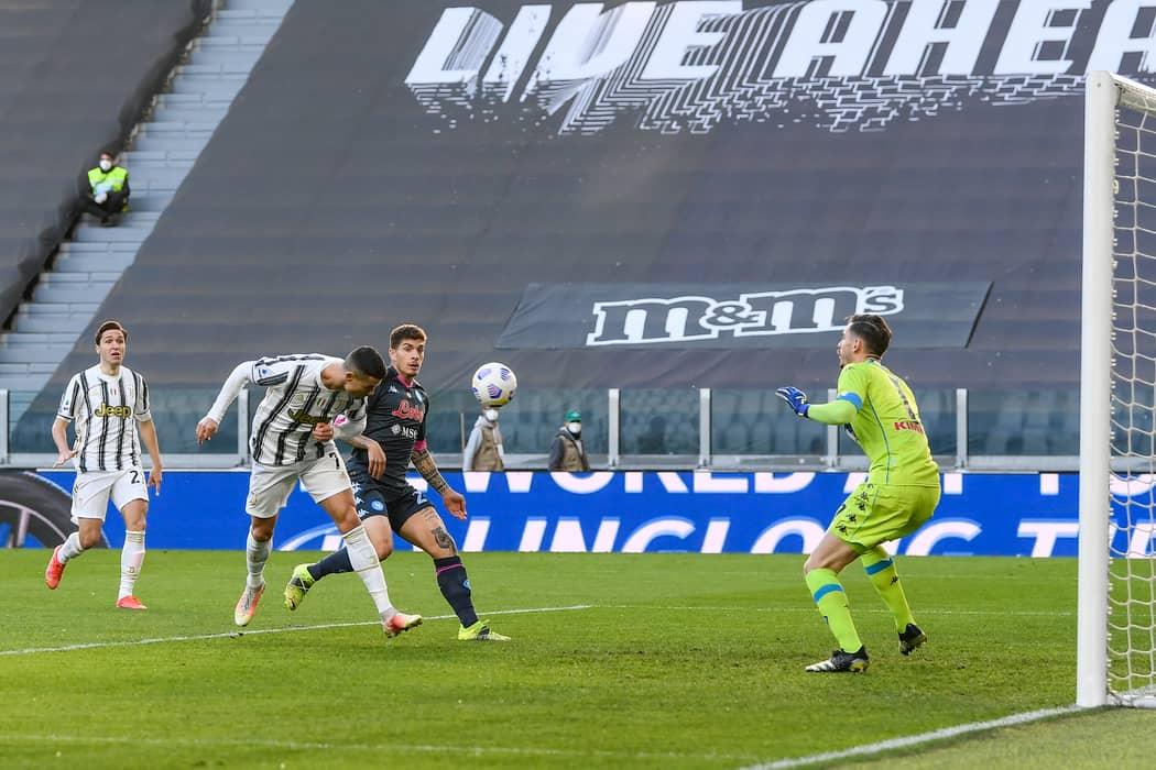 Juventus' Cristiano Ronaldo Produces 'Miss Of The Season' Against Napoli