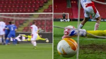 Allan McGregor's 'Impossible' Last-Minute Save For Rangers In Europe League Compared To Gordon Banks' Iconic Stop