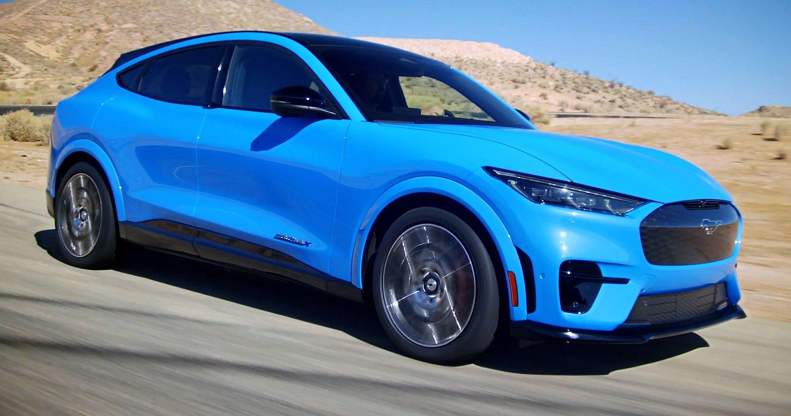 Now, tsla stock is dominating the automotive space. ford mustang mach-e sportbilen.se 2021 (2) - www.sportbilen.se
