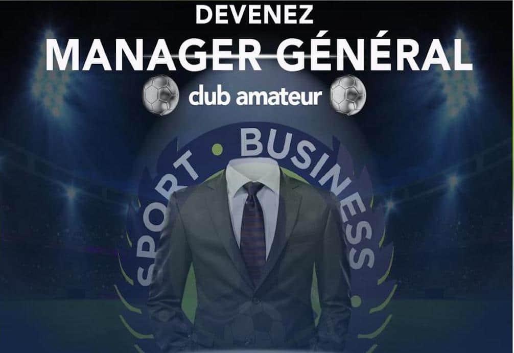devenir manager général de club