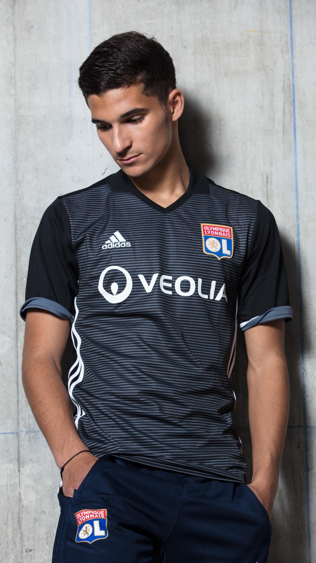 Adidas Dvoile Le Maillot Third De LOlympique Lyonnais