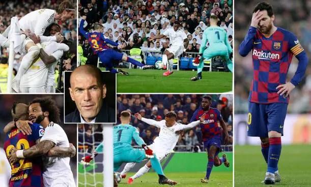 Real Madrid 2-0 Barcelona