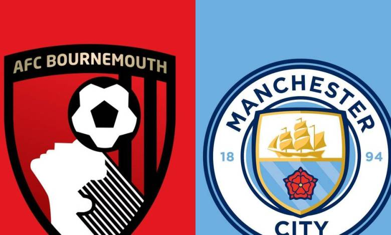 Bournemouth VS Manchester City: live streaming, date, kick off time, preview & watch online