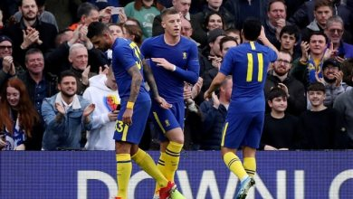 Chelsea qualified for round four of the FA Cup after eliminating Nottingham Forest