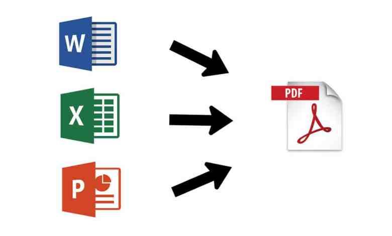 Converting to PDF