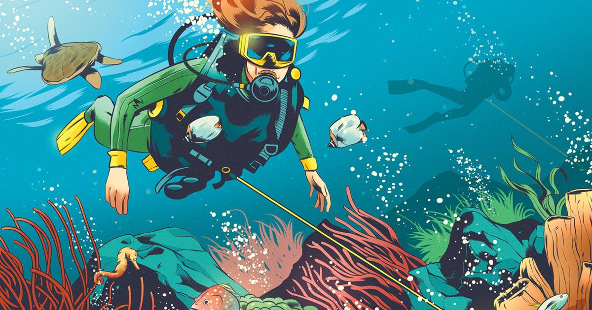 How To Handle Heavy Current While Scuba Diving Sport Diver