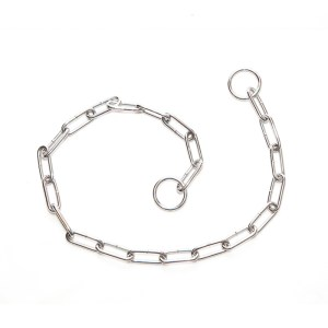 Ошейник-цепочка с овальными звеньями