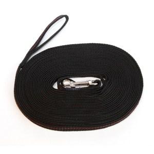 Поводок следовой текстильный шир. 10 мм сталь