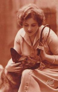 Девушка с малинуа