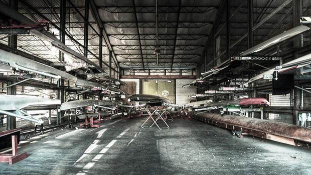 Hangar rowing