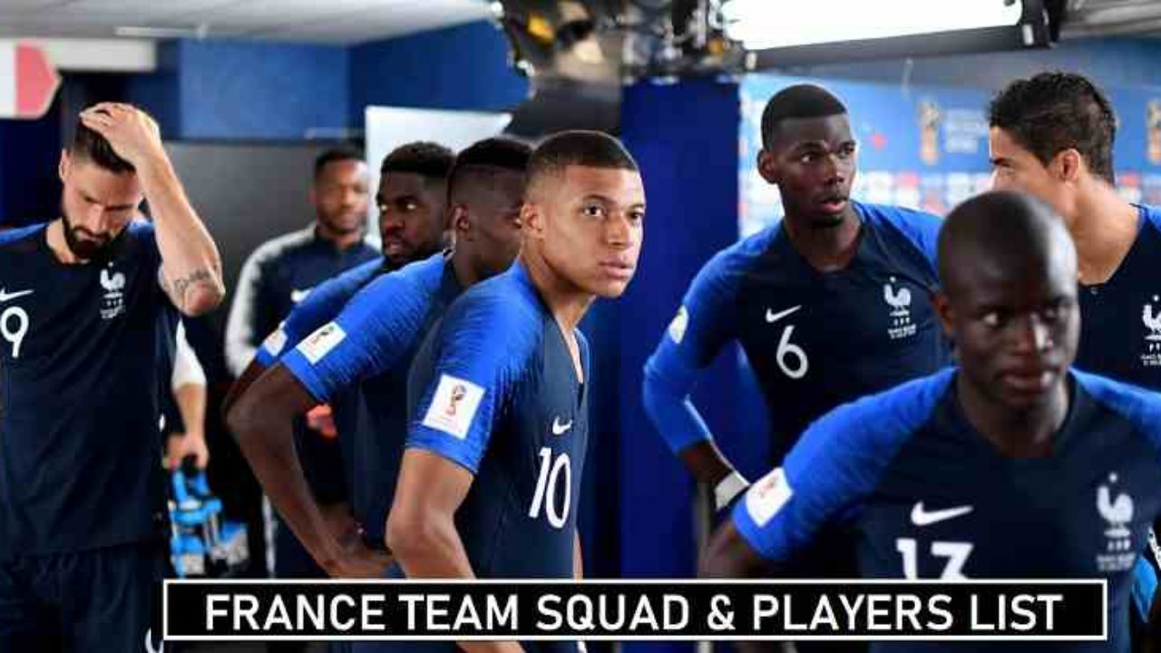 Here we look at the france squad olympics 2021. France Euro 2020 Squad Team Lineup S Players List