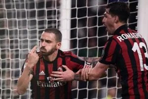 Milan Juventus bonucci