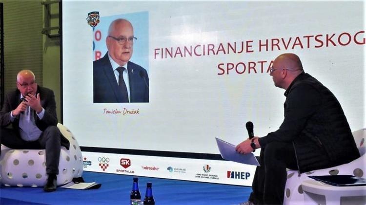 Državni tajnik Družak na konferenciji SPORT FEST 2020. u Poreču