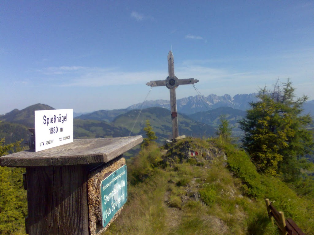 bergige Grüße vom Spießnägel (1880 m)