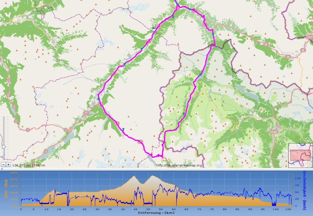 Engadin RM Proberunde und Tour de Swiss