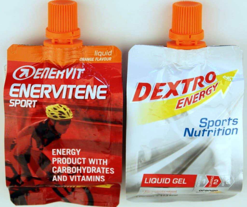 Enervit Enervitene Sport vs Dextro Energy Liquid Gel – ein Unentschieden mit klarem Sieger!