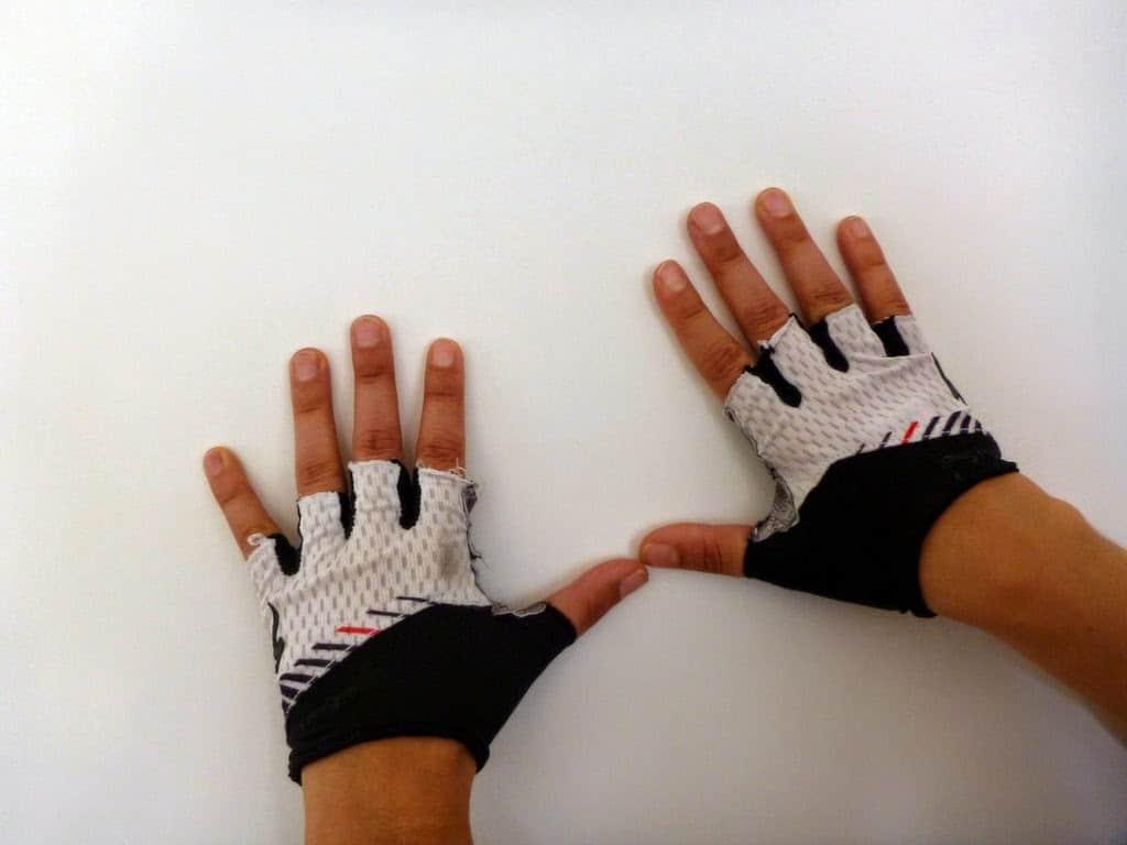 Specialized SL Pro Handschuh im Test mehrfach aufgerieben