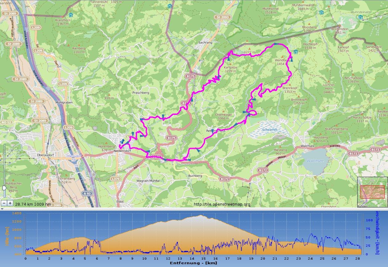 Wildbichler Alm / Wandberg – MTB Tour, ein Muß im Tiroler Unterland